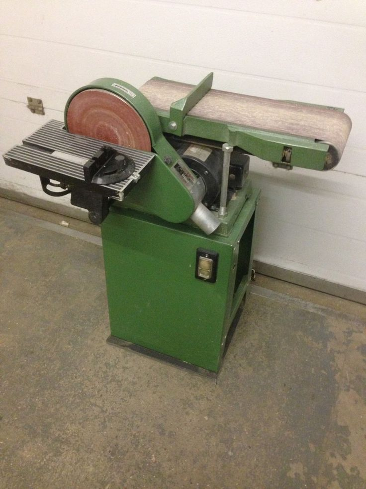 You are bidding on a used disc and belt sander in working