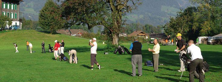 Golfanlage Höchhuis in Kerns.
