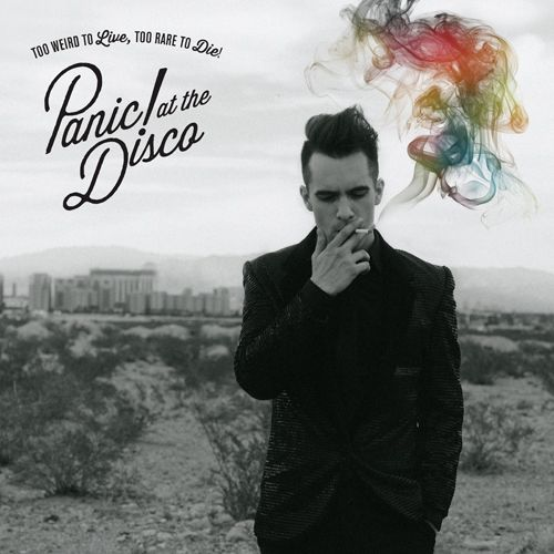 REPIN TO WIN! // Repin for a chance to win copy of Panic! at the Disco's new album Too Weird to Live, too Rare to Die! (5 available, winners will be randomly chosen)