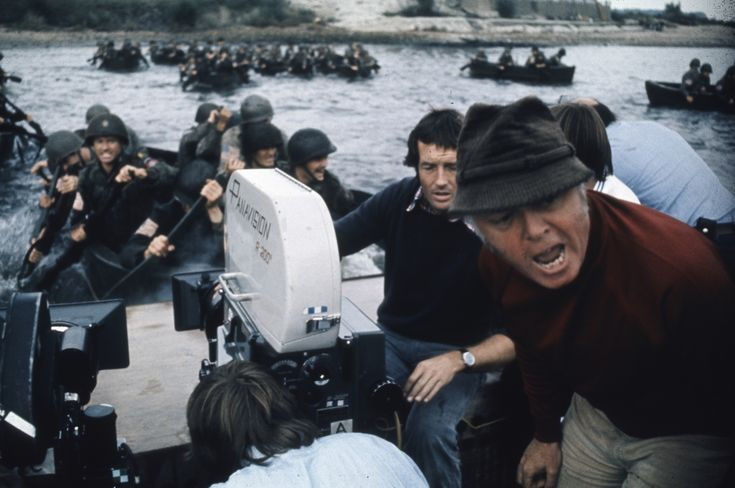 Richard Attenborough Directing A Bridge Too Far In 1977 Richard Attenborough Robert Redford Film History