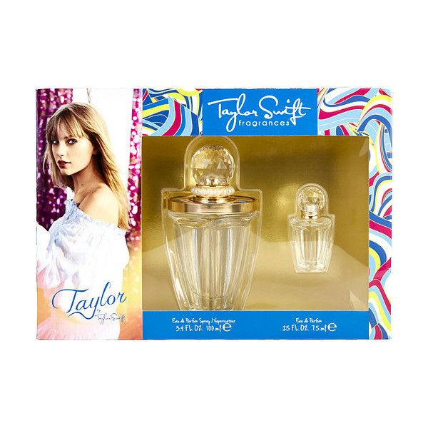Taylor By Taylor Swift By Taylor Swift Set ($29) ❤ liked on Polyvore featuring beauty products, fragrance, eau de perfume and edp perfume