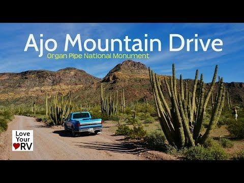 Ajo Mountain Drive in Organ Pipe Cactus Park - Love Your RV blog
