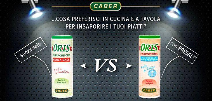 ...Chi vince?! #cucina #tavola #orissenzasale #orisinsaporitore #caber #sfida