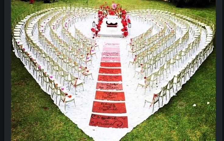 Nigerian Wedding Presents Breathtaking Outdoor Ceremony Decor Ideas