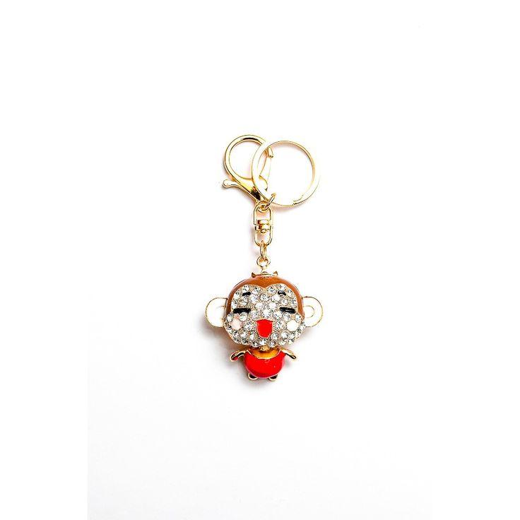 Metal Key Chain Monkey Rp 80.000