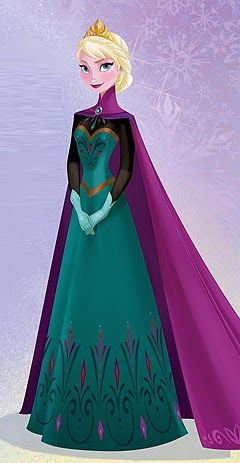 elsa coronation dress - Google Search