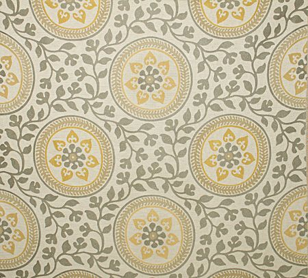 Pindler Fabric Pattern 2671 Simpatico Color Buttercup