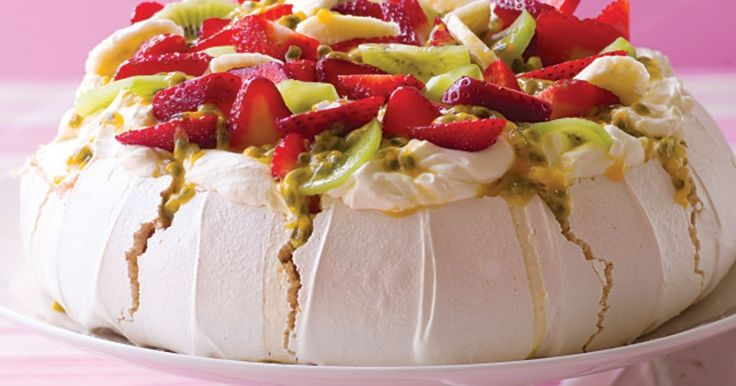 Celebrate Australia Day this year with this traditional pavlova.