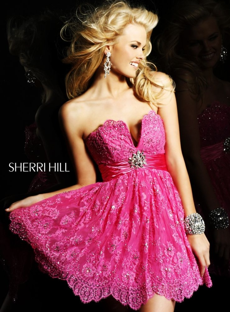 Sherri Hill dress! Also comes in cream!! Click the picture to go to the official site!