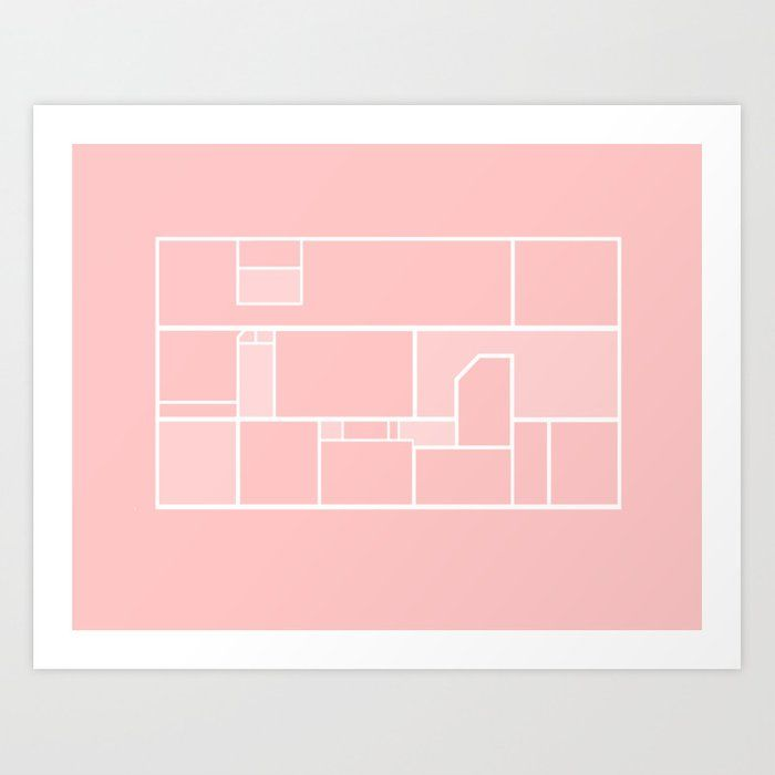 Excellent Abstract Art Pink Dream Home Floor Plan Art Print Art Download Free Architecture Designs Embacsunscenecom
