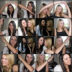 Oh the joy of best friends! Such an awesome idea!