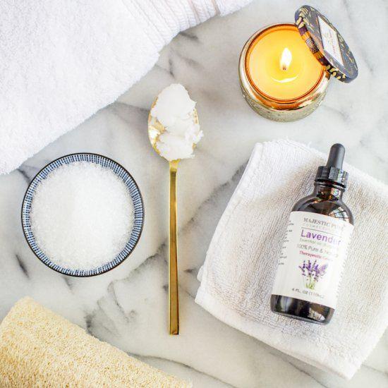 DIY Epsom Salt Detox Bath