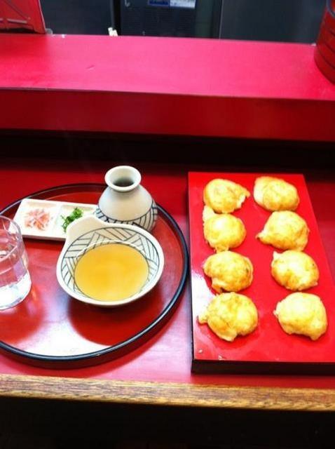 Akashiyaki Pudding Cake, japanese food