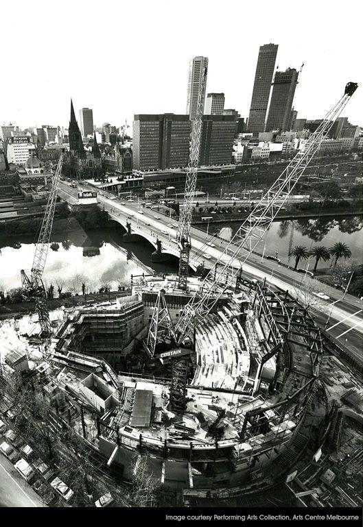 Arts Centre Construction - 1980