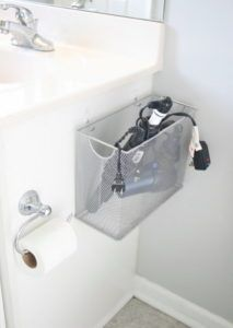 16 Storage Space Under The Sink with a File Box