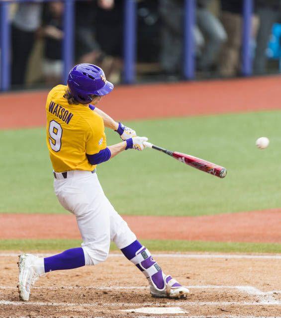 Zach Watson Lsu Lsu Baseball Louisiana State University