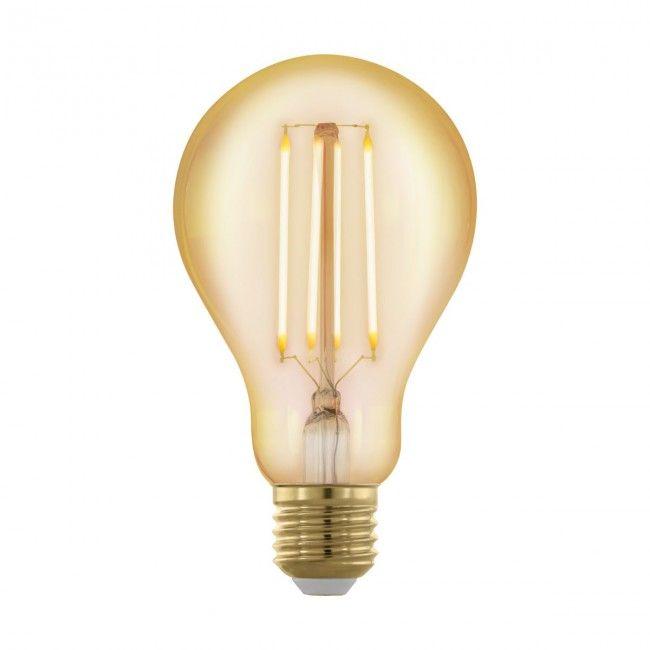 EGLO Golden Age E27 LED Leuchtmittel 4W 320lm 1700K A75 Vintage dimmbar