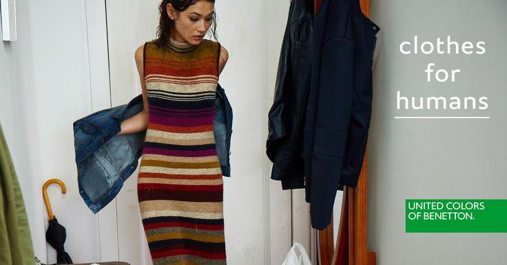 #clothesforhumans #Benetton #FW16 #campaign #fashion #woman
