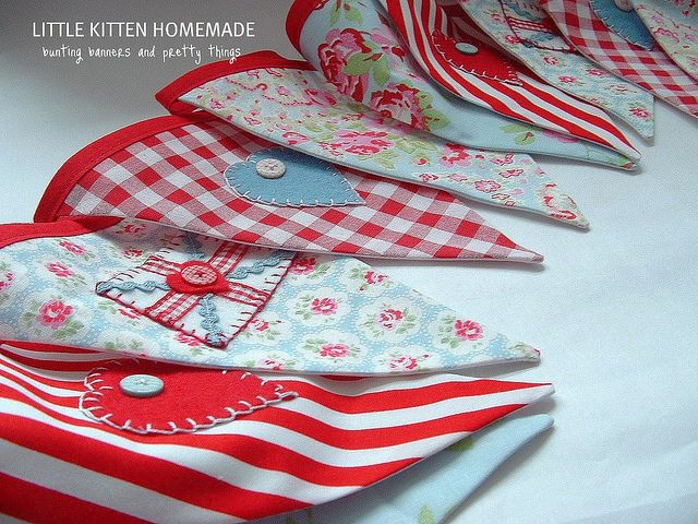 Tea Party Bunting | Flickr - Photo Sharing!