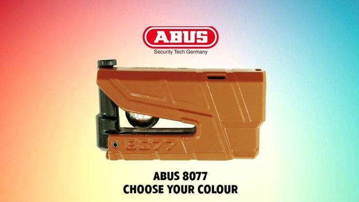 Κλειδαριά Δισκοφρένου με Συναγερμό ABUS Granit Detecto X-Plus 8077 Χρώματα
