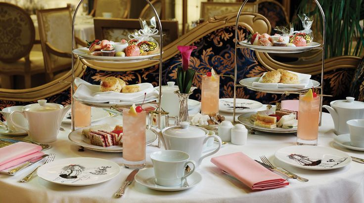 Afternoon Tea at The Plaza, New York