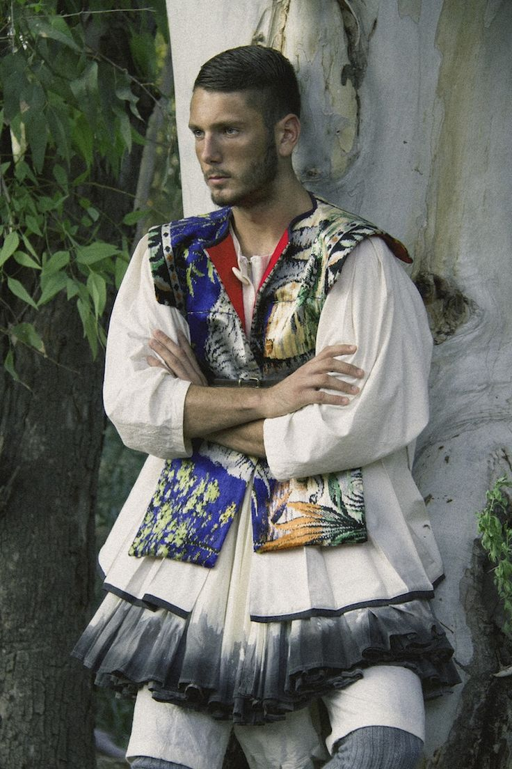 #greek - Costume and photography by Filep Motwary Jewellery by Maria Mastori.