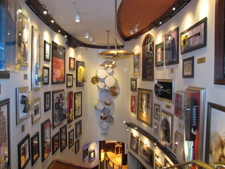 Cleveland, Ohio - Hard Rock Cafe - Inside