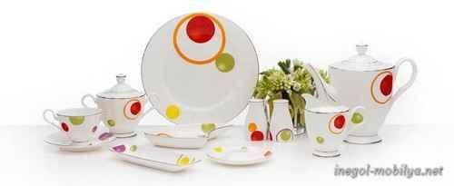 awesome Mutfaktaki Zerafet Yüklü Porselen Yemek Takımları