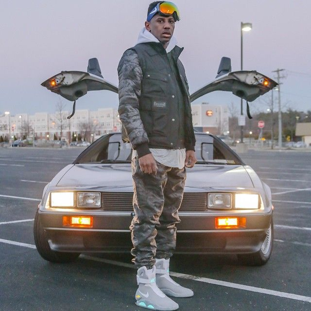 Fabolous goes back to the future in the Nike Air MAG