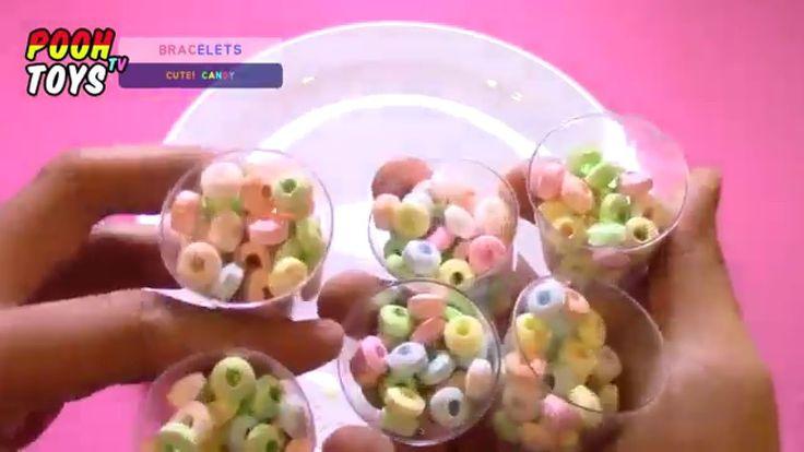 사카린 팍팍 들어간 팔찌사탕 강제 자르기 20탄 !Bracelets Candy Funny Unboxing music with Po...