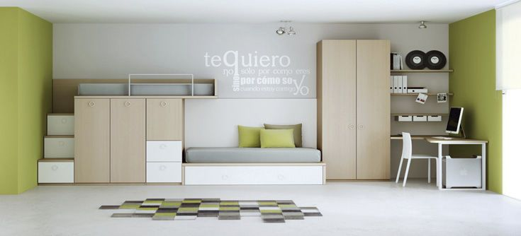lit superpos avec rangement pour enfant mixte. Black Bedroom Furniture Sets. Home Design Ideas