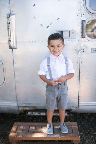 Cute Page Boy   Kaysha Weiner Photographer   Bridal Musings Wedding Blog 41   Ring Bearer   Pink Tie   Suspenders