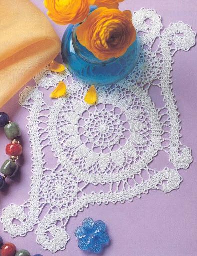 Bruges crochet mat