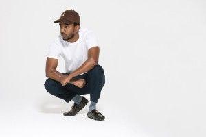 Kendrick Lamar chillin
