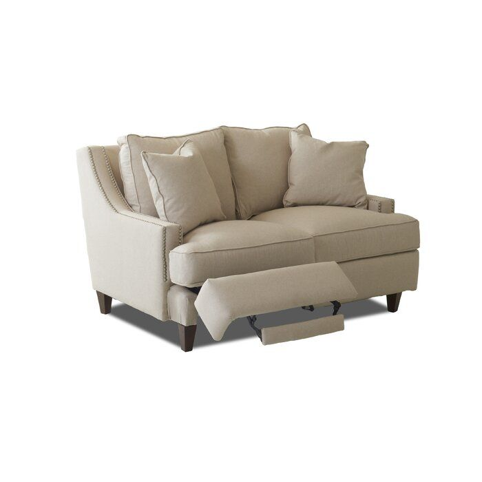 Tricia 60 Square Arm Reclining Loveseat Sofas For Small Spaces Love Seat Loveseat Living Room Reclining loveseats for small spaces