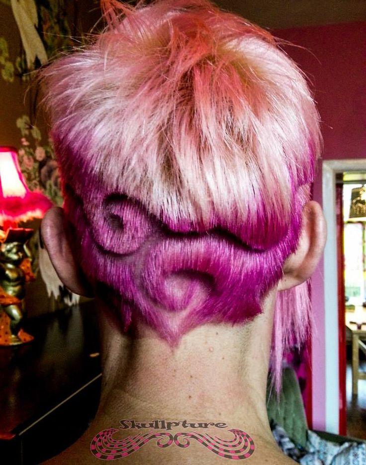 hairtattoo tribal swirls