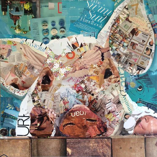 piggy magazine collage by charla steele