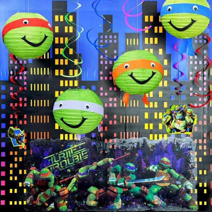 diy teenage mutant ninja turtles room decor from birthdayexpresscom