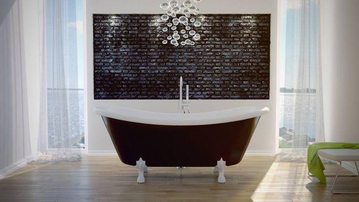 Dla tych z Was, którzy posiadają spory metraż łazienki, proponujemy wannę wolnostojącą AMELIĘ w wymiarze 190 x 77cm! Ten model wanny dla dwojga, możecie ustawić na łapach chrom, mosiądz oraz białych, w zależności od Waszych upodobań. :)