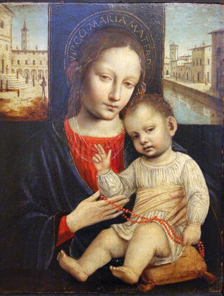 Ambrogio Bergognone - Madonna and Child. 1500
