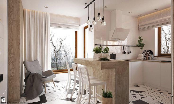 Kuchnia styl Skandynawski - zdjęcie od ELEMENTY - Pracownia Architektury Wnętrz