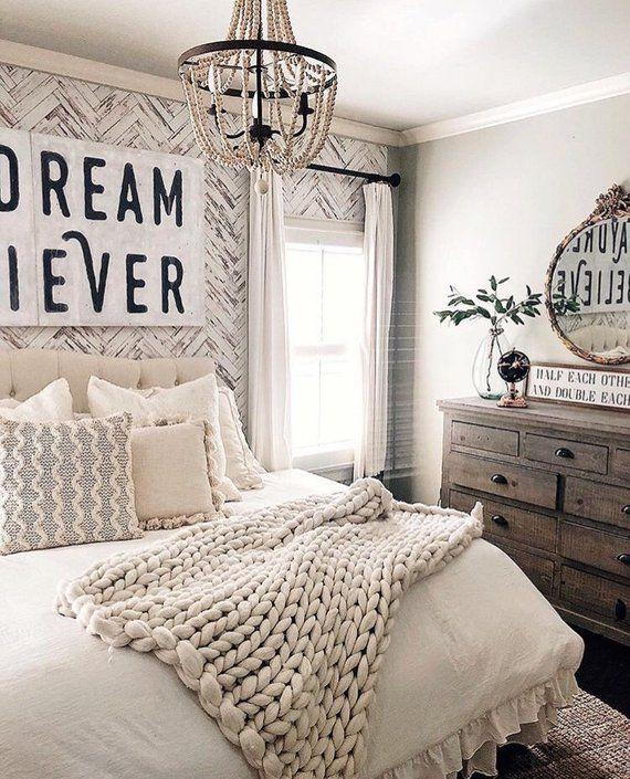 Herringbone Wood Wallpaper Farmhouse Wallpaper Wood Etsy Herringbone Wallpaper Bedroom Design Country Bedroom