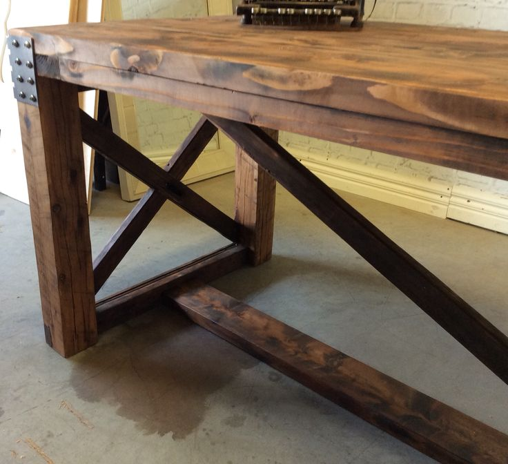 Industrial style cafe alfresco tables ends