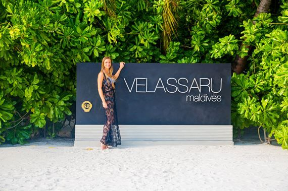 If you're looking for a resort with a little extra va-va-voom, then Velassaru Maldives is the perfect choice. A highly sophisticated resort that pairs contemporary luxury with the natural beauty of the Maldives, this 5-star, 21-acre coral island is situated in the quiet South Malé Atoll and is accessible only by speedboat. The resort has something to suit everyone, from honeymooners (like us) to families to just friends – nobody could ever get bored here! by Triptemptation.com