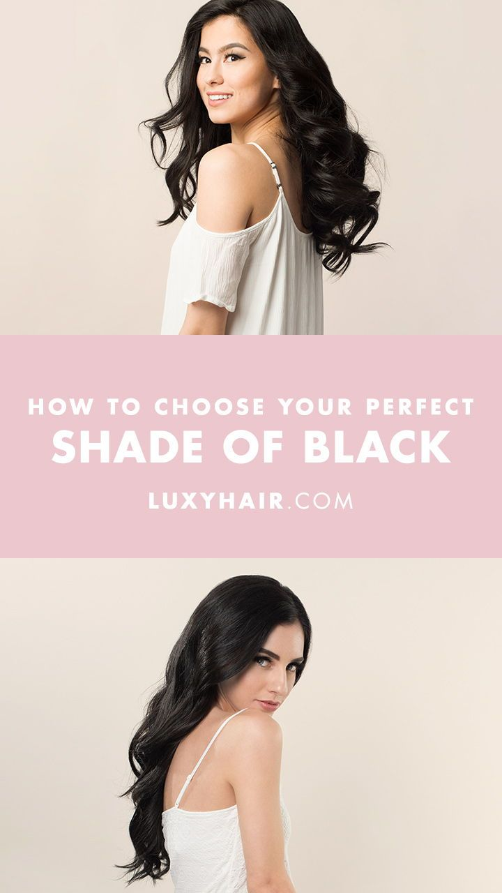 How To Choose Your Perfect Shade Of Luxy Hair Extensions Hair
