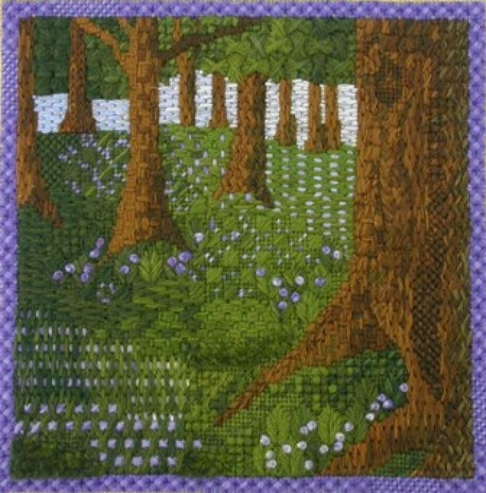 Canvaswork/needlepoint - Apprentice Lisa Hughes