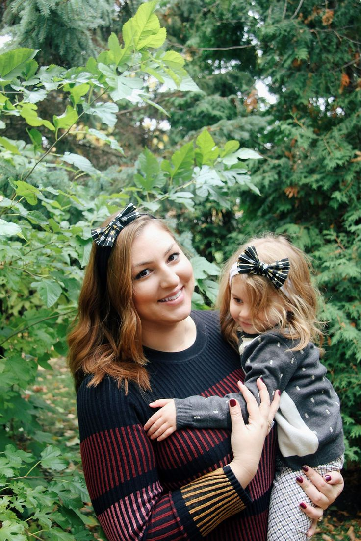 Super Adorable Mother and Daughter matching headbands