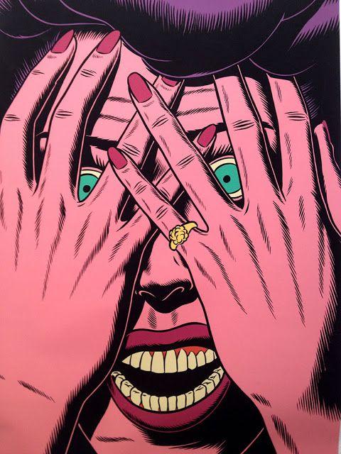 Lyssa humana: Art: Kristian Hammerstad