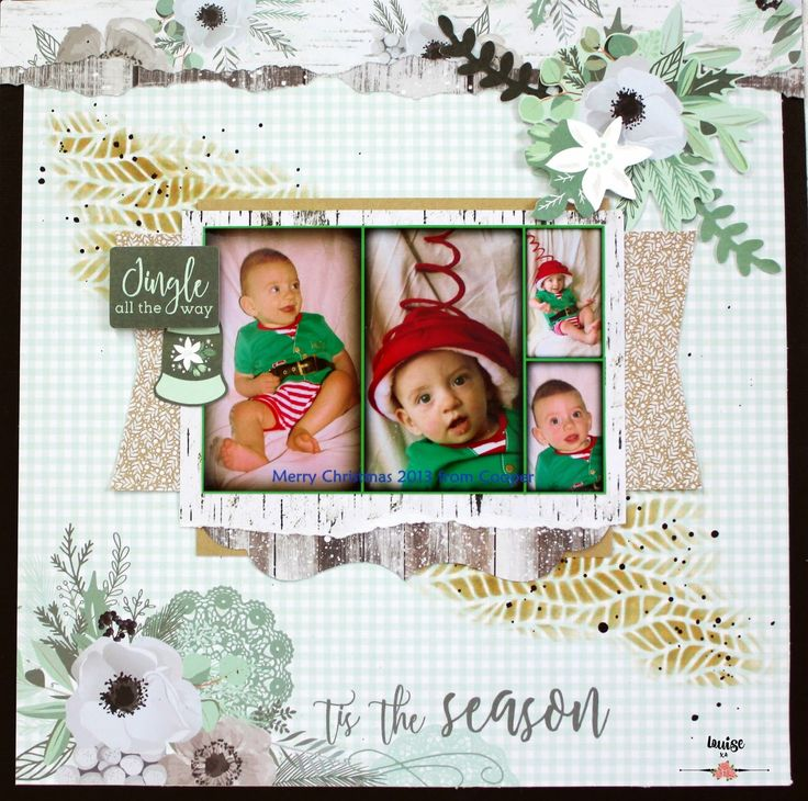 """Hello Scrap Friends Today I'd like to share with you my take on the October challenge at Kaisercraft Here is my page """"Tis the Season""""..."""