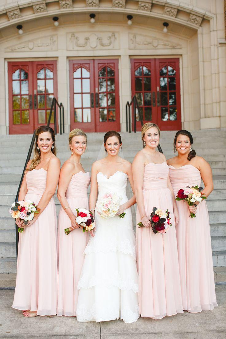 33 best burgundy blush peach wedding images on pinterest blush burgundy peach and ivory wedding copper blushblush bridesmaid dressesbridesmaidsivory ombrellifo Images